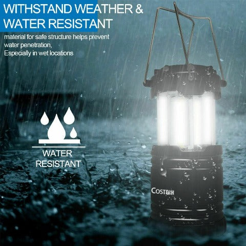 Portable Outdoor LED Camping Lantern Tent Light