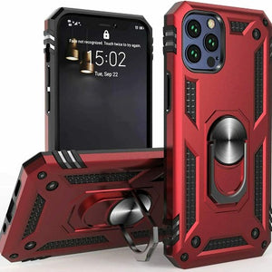 iPhone 11 Pro Heavy Duty Case With Magnetic Metal Ring