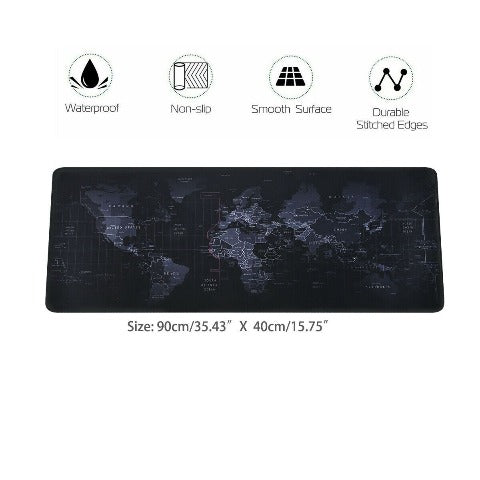 Gaming Mouse Pad XXL Comfortable Superfine Fiber Desktop Extended Long Mat