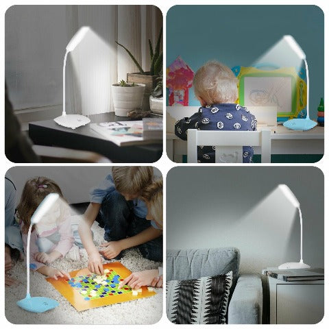 Dimmable LED Desk Lamp With Touch Sensor & USB Charging Port