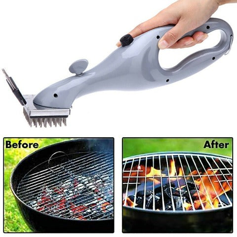 Stainless Steel Steam Cleaning Grill Brush Instant Grill Steam Cleaner