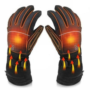 Heated Glove Electric Rechargeable Battery Heated Winter Warm Glove Liner