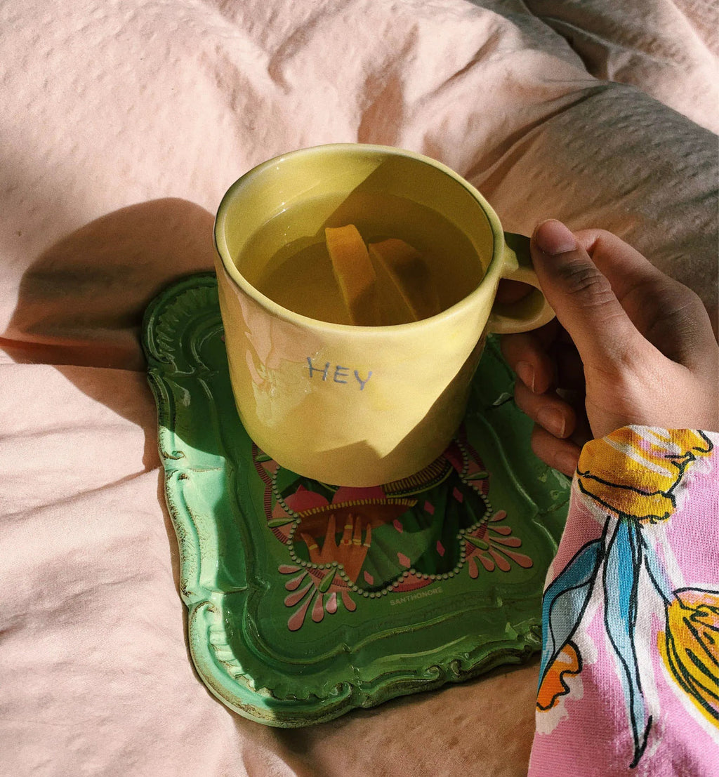 Hey Mug in Lemonade Yellow  // pre order uge 17