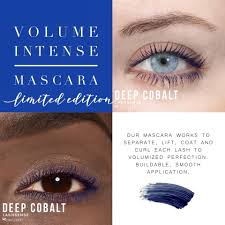 VolumeIntense Waterproof Mascara: Deep Cobalt