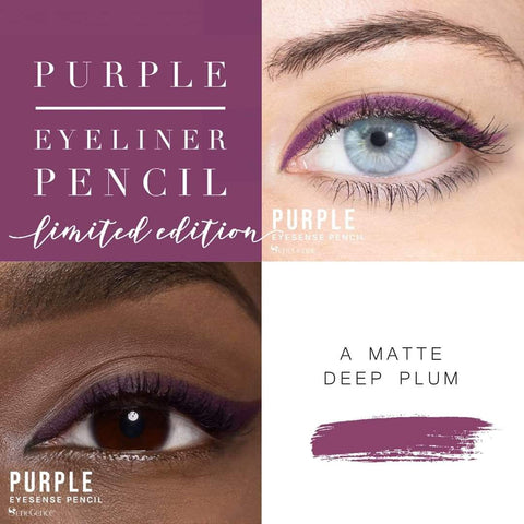 Long-Lasting Eye Liner Pencil: Purple- Only $14 instead of $25