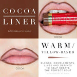 Liquid Lip Liner: Cocoa