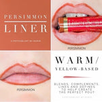 Liquid Lip Liner: Persimmon