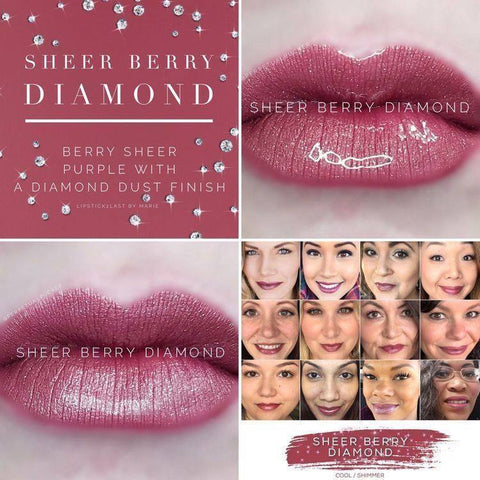 Lipsense Sheer Berry Diamond
