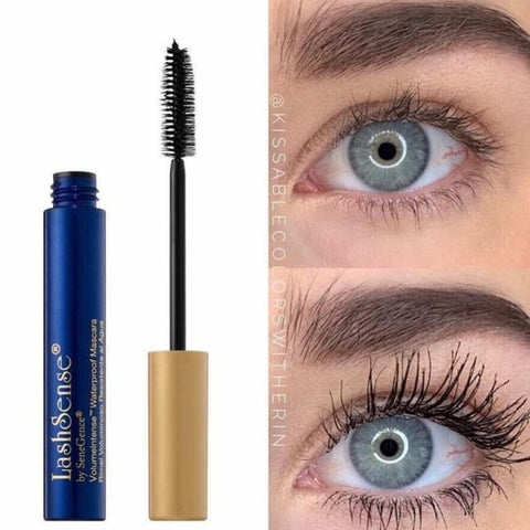 VolumeIntense Waterproof Mascara: Black