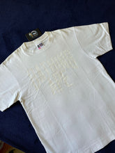 Load image into Gallery viewer, Bape White/White NYC Logo Tee