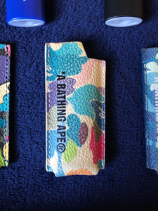 Bape White Multi Camo Lighter Sleeve
