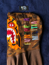 Load image into Gallery viewer, Bape Brown/Brown Camo Tiger Full ZIP Hoodie