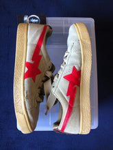 Load image into Gallery viewer, Bape Beige/Red Crepestas 9.5
