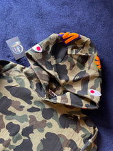 Load image into Gallery viewer, Bape Green Camo Shark Pullover Hoodie