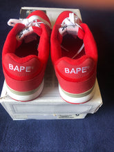 Load image into Gallery viewer, Bape Red Trackstas 9
