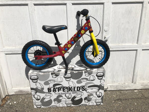 Bape x Sesame Street Kids Training Bicycle