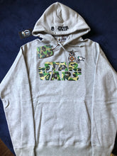 Load image into Gallery viewer, NEW Bape x Star Wars Green Camo Pullover Hoodie