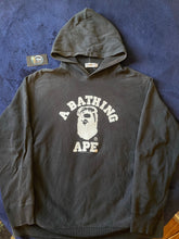 Load image into Gallery viewer, Bape Harajuku Store College Logo Pullover Hoodie