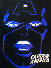 Load image into Gallery viewer, Bape x Marvel Comics Captain America Logo Tee