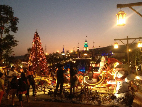 4. Christmas Decoration @ Imagica, Mumbai by Ginnibloom