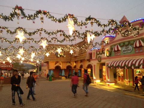 5. Christmas Decoration @ Imagica, Mumbai by Ginnibloom