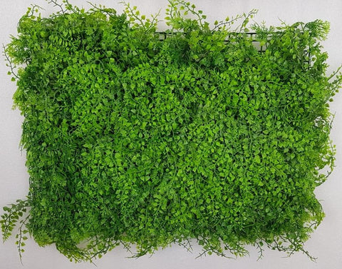 ARTIFICIAL THICK FERNS HEDGE/ WALL MAT (WHOLESALE PACK OF 12 MATS/ 30 SQ FEET)