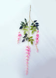 ARTIFICIAL WISTERIA - LIGHT PINK (WHOLESALE PACK OF 5 DOZEN/ 60 STEMS)