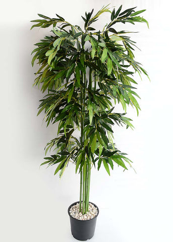 ARTIFICIAL BAMBOO PLANT - 6.5 FT (1 SET OF 6 PLANTS)