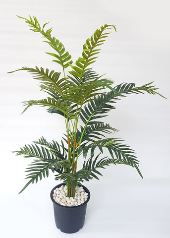 ARTIFICIAL ARECA PALM PLANT - 3.6 FT, 18 LEAVES
