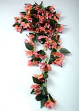 ARTIFICIAL BOUGAINVILLEA BUNCH - LIGHT PINK (WHOLESALE PACK OF 2 BUNCH)