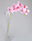 Artificial Vanda Orchids - Baby Pink-1stems