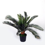 Decorative Artificial Cycas Plant - 45 cms, 21 Leaves