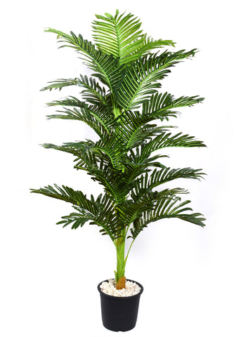 Artificial Single Areca Palm Plant - 5 ft