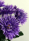 ARTIFICIAL PURPLE SPIDER MUM BUNCH ( PACK OF 4 BUNCH)