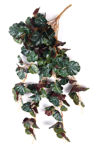 ARTIFICIAL BEGONIA BUNCH CREEPER - GREEN