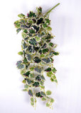 ARTIFICIAL BEGONIA BUNCH CREEPER - VARIEGATED