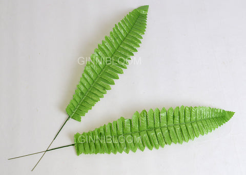 ARTIFICIAL BOSTON FERN LEAF (WHOLESALE PACK OF 20 STEMS)