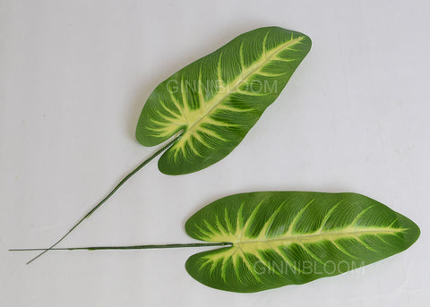 ARTIFICIAL ELEPHANT EAR LEAF (WHOLESALE PACK OF 40 STEMS)