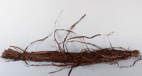 RAFFIA BUNDLE - BROWN (WHOLESALE PACK OF 2 BUNDLES)