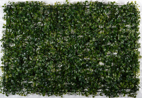 ARTIFICIAL BOXWOOD HEDGE/ WALL MAT (WHOLESALE PACK OF 12 PC/ 30 SQ FEET )