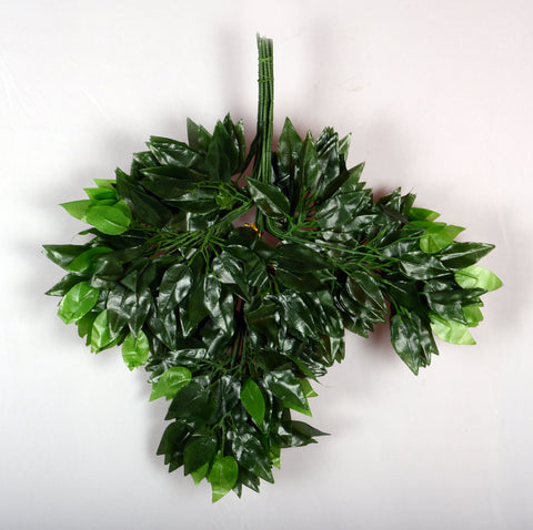 ARTIFICIAL FICUS LEAF - SMALL (WHOLESALE PACK OF 4 DOZEN/ 48 PC)