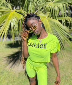 Savage Set Neon Yellow