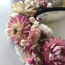 Load image into Gallery viewer, Dried Flower Crown - Headband Jane Smith Floral Design