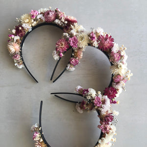 Dried Flower Crown - Headband Jane Smith Floral Design