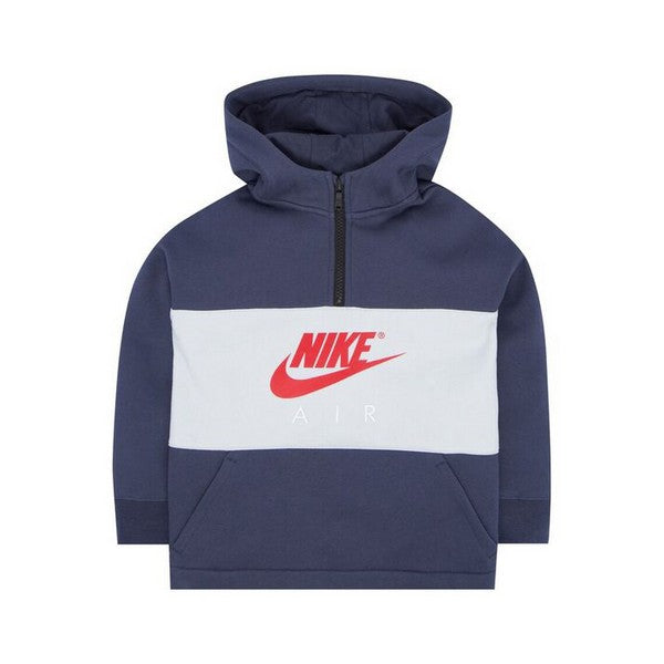 Children's Hoodie Nike 342S-U2Y Navy blue Grey