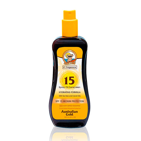 Tanning Oil Sunscreen Hydrating Australian Gold SPF 15 (237 ml)