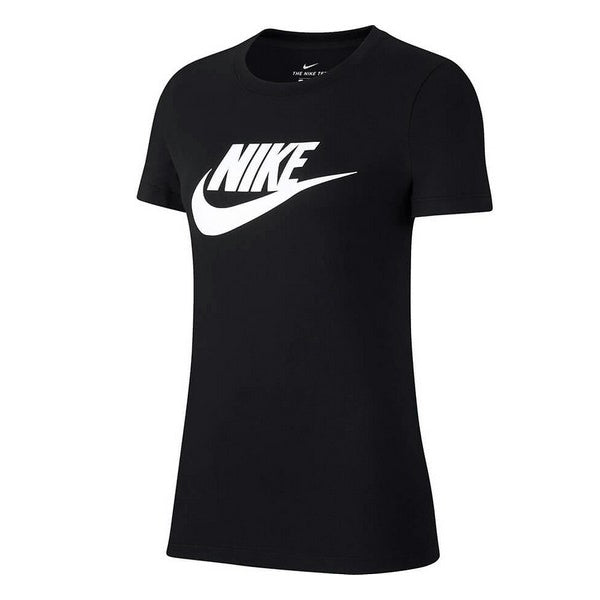 Women's Short Sleeve T-Shirt Nike NSW TEE ESSNTL ICON Black