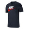 Men's Short Sleeve T-Shirt Nike NSW TEE BRAND MARK Navy blue