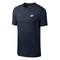 Men's Short Sleeve T-Shirt Nike NSW CLUB TEE Navy blue