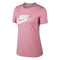 Women's Short Sleeve T-Shirt Nike NSW TEE ESSNTL ICON Pink
